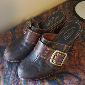 """Coach leather heel """"candace"""""""